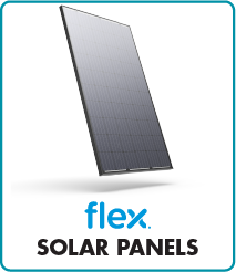 Flex solar power panels