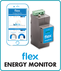 Flex Energy monitor for solar power