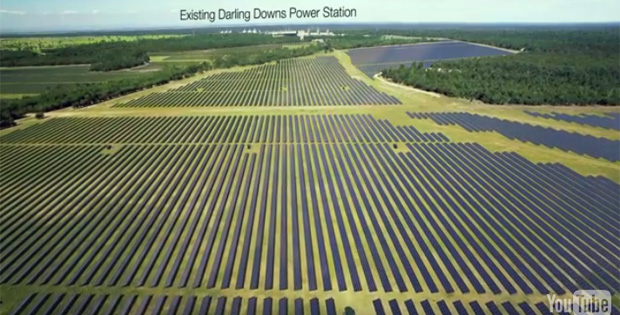 Darling Downs Solar energy farm