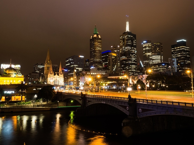 Melbourne skyline: one of the world's most liveable cities