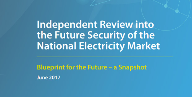 Finkel review into energy grid future
