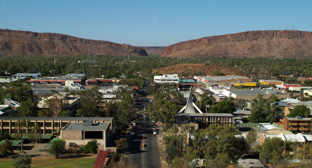 Northern Territory solar power for communities like Alice Springs from the government's solar power scheme.