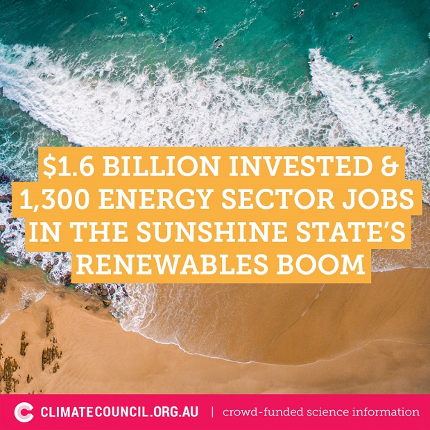Queensland renewable power : $1.6B for 1300 jobs