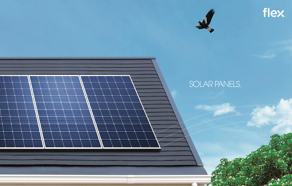 Flex solar panels