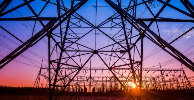 Electricity transmission towers are owned by the distributor