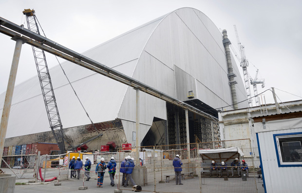 Energy self sufficiency: The site of the Chernobyl nuclear disaster will soon host the Chernobyl solar farm.
