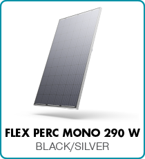 Flex Powerplay solar panels black silver mono Flex Spec Sheet Solar Panels Mono AUS V11_Silver-MEDRES.PDF