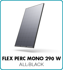 Flex Powerplay solar panels black mono