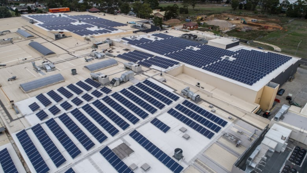 Commercial solar energy: Stockland investment in 39,000 panels