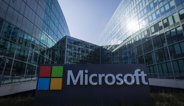 Microsoft is a leader in the uptake of renewable energy.