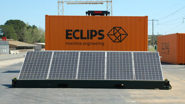 Mobile solar generators can pop-up anywhere