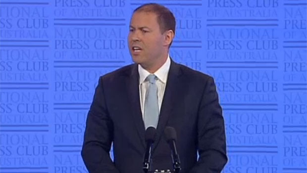 Reliability of supply, cheaper electricity: Energy Minister Josh Frydenberg addresses the National Press Club