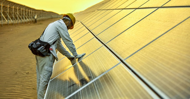 Business renewable energy trend continues addition of solar panels