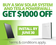 Solar power panels bonus