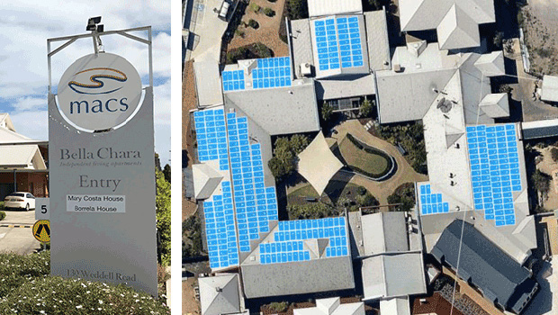 A Geelong solar installation raised $150,000 from the community in a week.