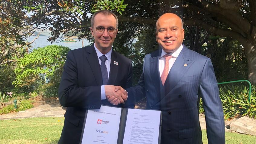 Laverton solar power deal signed