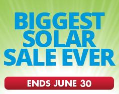 Solar power panels bonus