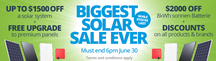 Solar And Batteries - Discount Specials
