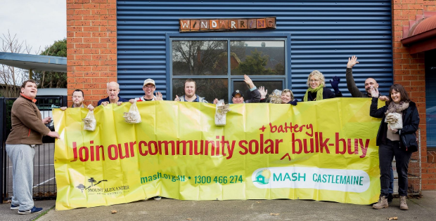 Free solar installation supports disability group's mushroom farm.