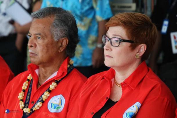 Pacific Islands Forum sees Austrlaian resistance on climate change.