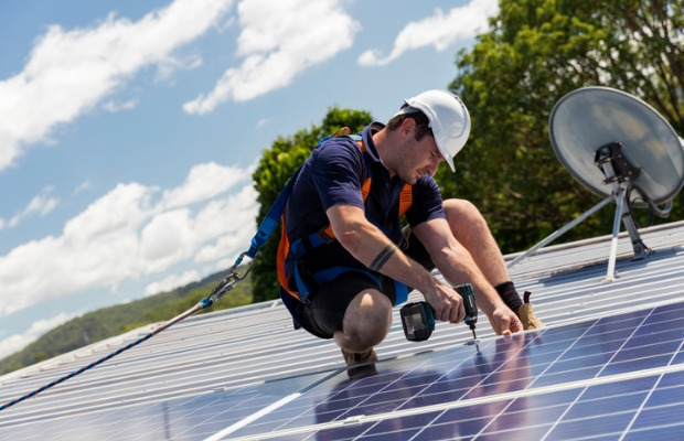 Solar panel installation is cheaper with the Federal Government STC scheme.