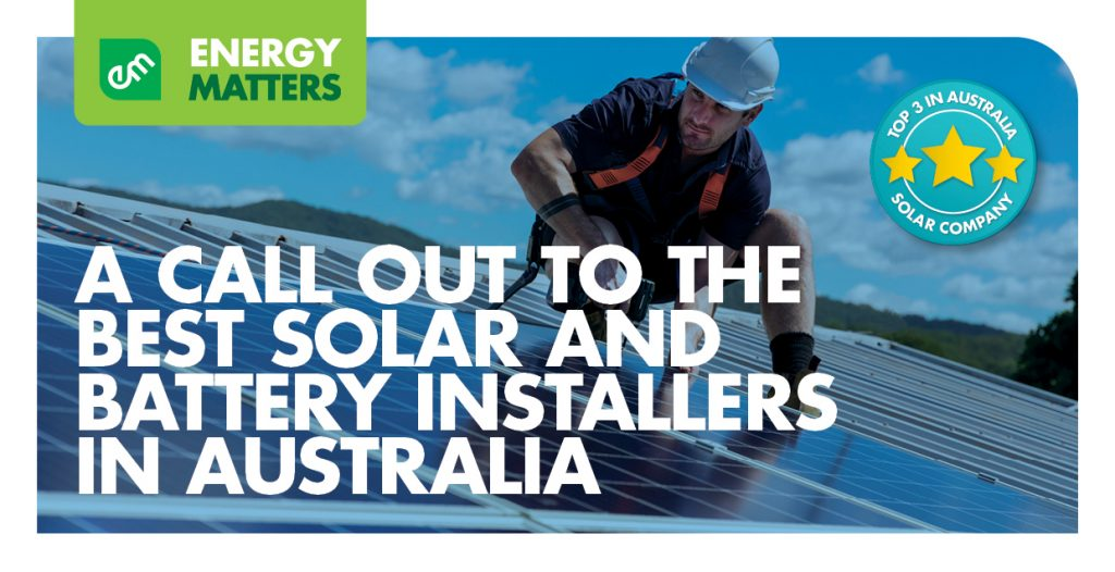 Solar contractors jobs: A call out to employ the best solar and battery installers in Australia