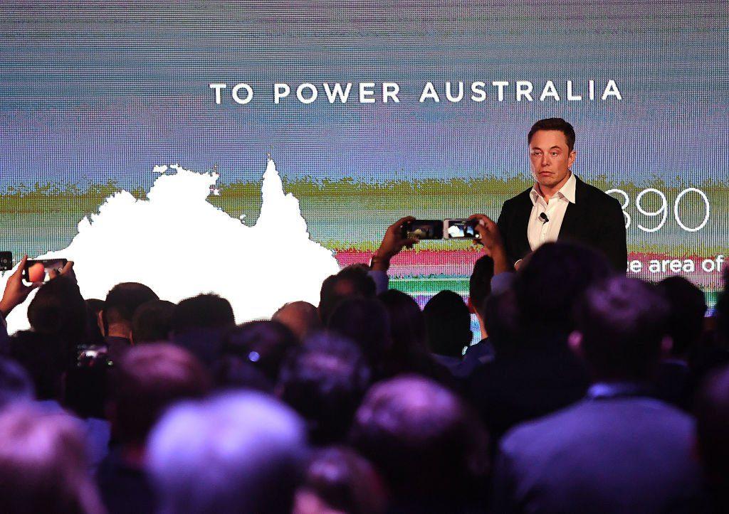 Tesla powerpack grid backup battery
