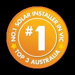 #1 solar installer in Victoria