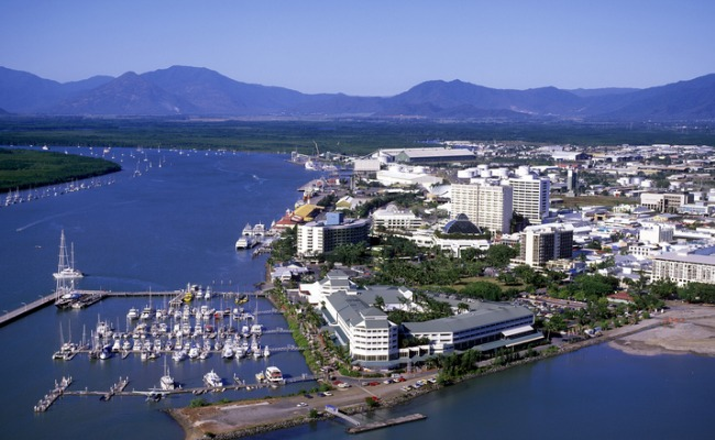 Cairns solar power: the city is the gateway to the Great Barrier Reef.