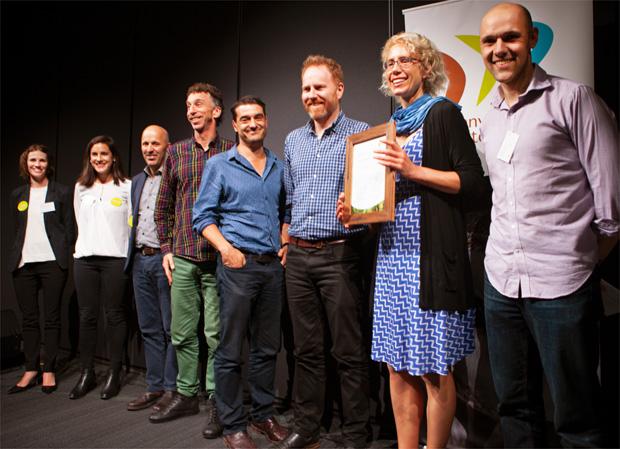 MASH members at the Environment Victoria Awards.