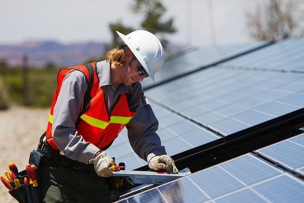 Solar panels assist in reducing power bills