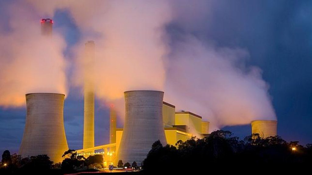 Carbon pricing to reduce emissions from coal plants and other large industrial emitters such as these.