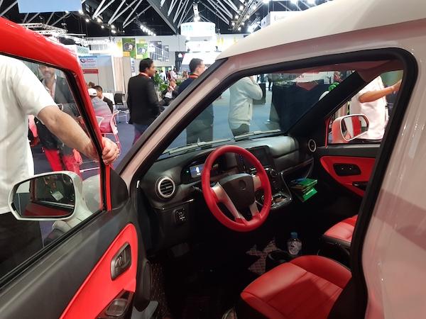 ACE Cargo EV interior at SEC 2019