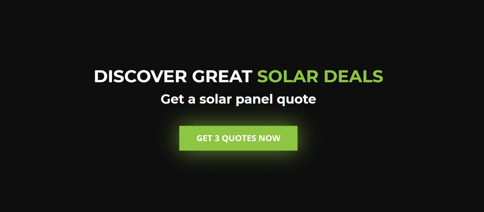 Stansbury solar specials