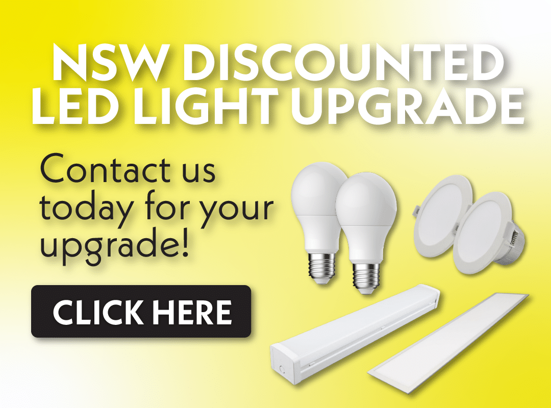 NSW discounted LED light upgrade