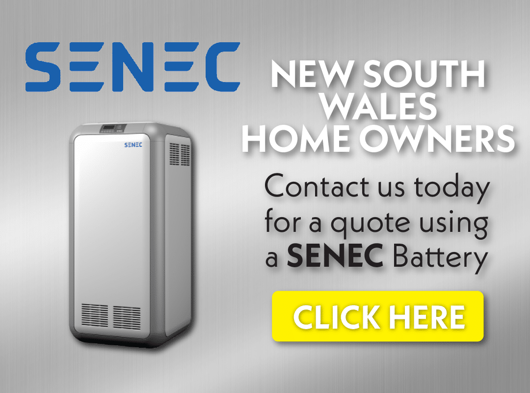 Senec solar battery for NSW home owners