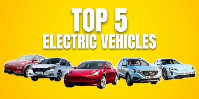 Top 5 Electric Vehicles Australia